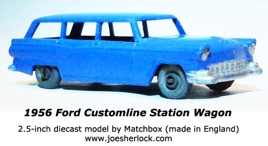 joe sherlock model car blog