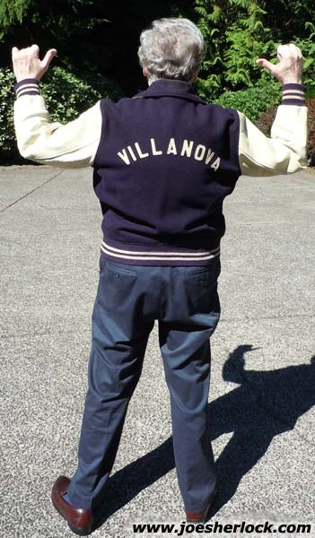 joe sherlock villanova jacket