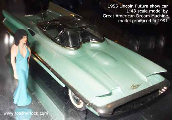 Lincoln Futura The Real Batmobile